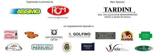 Sponsor 20esimo Trofeo golf RCM