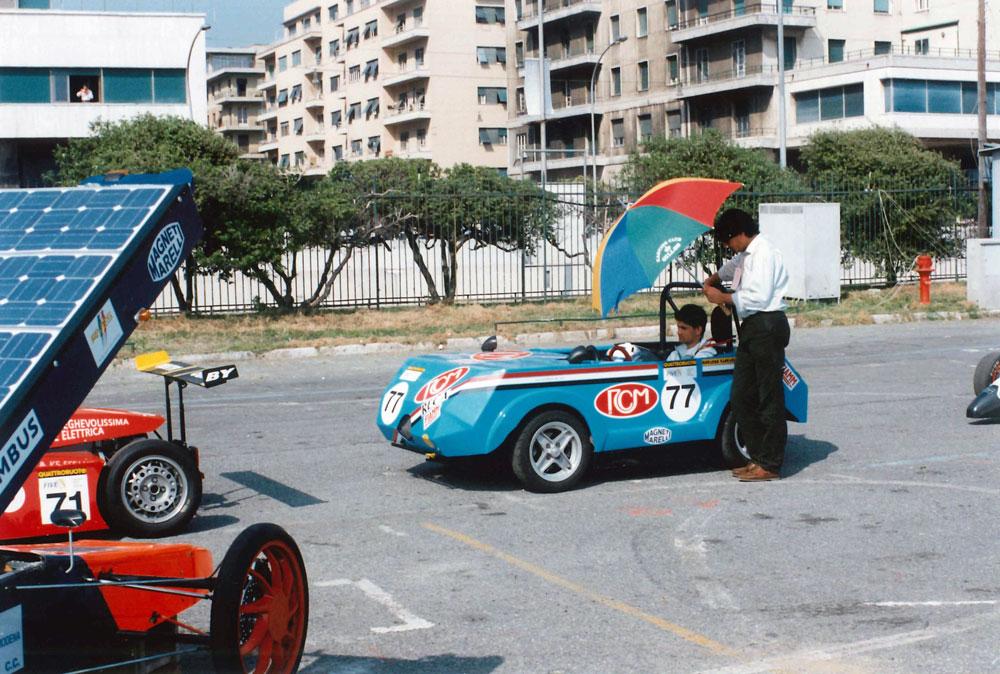 Auto elettrica Ricotti Formula E