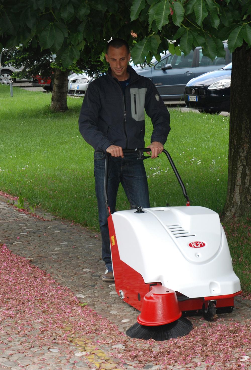 Fregadoras para la limpieza de los suelos de restaurantes y comunidades