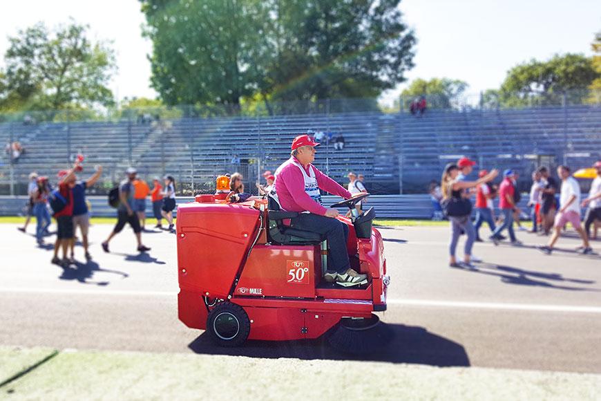 Anche quest'anno RCM è all'Autodromo di Monza: sempre presenti dal 1981 al 2019