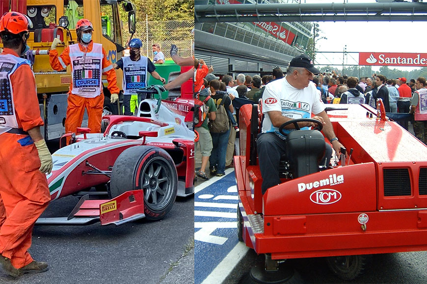 Monza 2020: 40 years of RCM Rapid Cleaning
