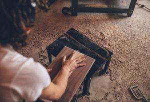 falegnameria spazzatrice industria legno