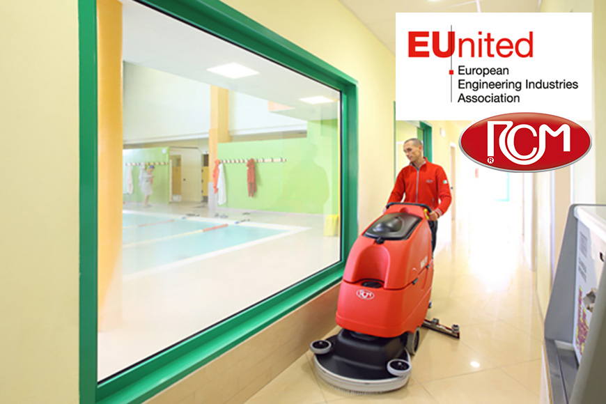 """RCM e la certificazione EUnited Cleaning """"Green Cleaning"""""""